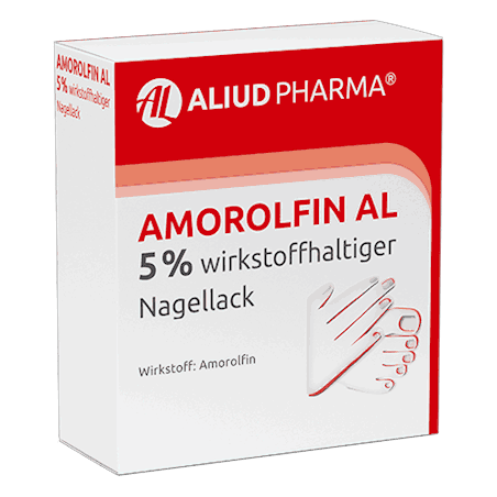 Amorolfin AL 5 % wirkstoffhaltiger Nagellack